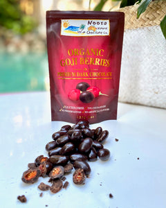 Tibetan Goji Berries Coated in Premium Dark Chocolate