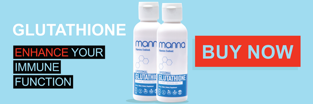 image with link to Manna liposomal glutathione product page