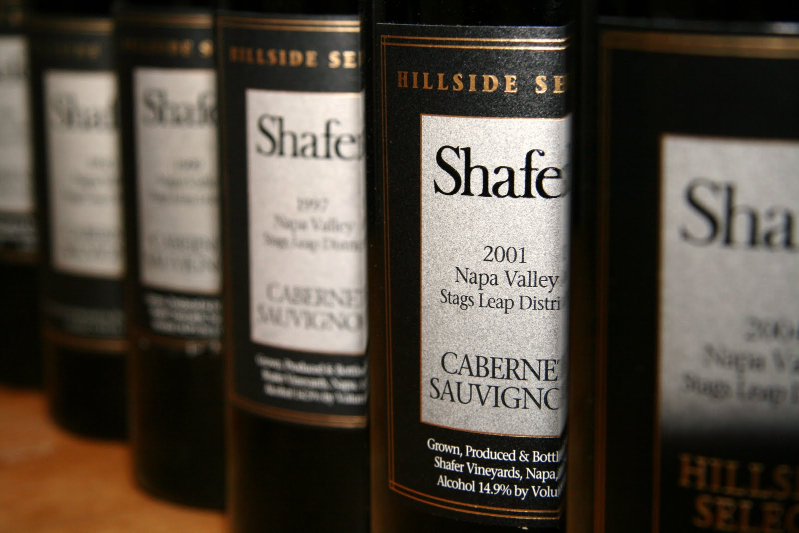 SHAFER ESTATE VINEYARDS HILLSIDE SELECT CABERNET