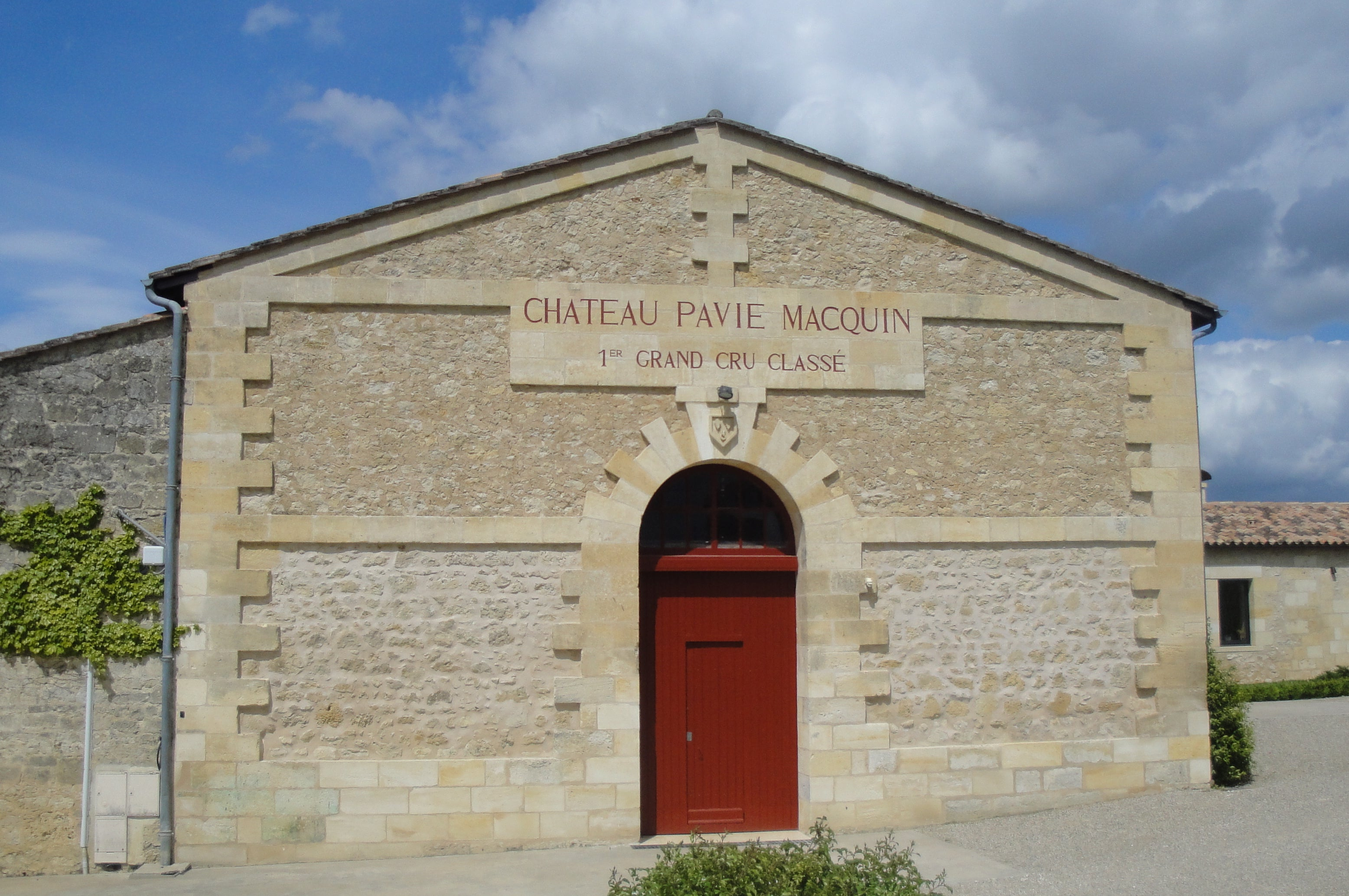 CHATEAU PAVIE MACQUIN SAINT-EMILION BORDEAUX