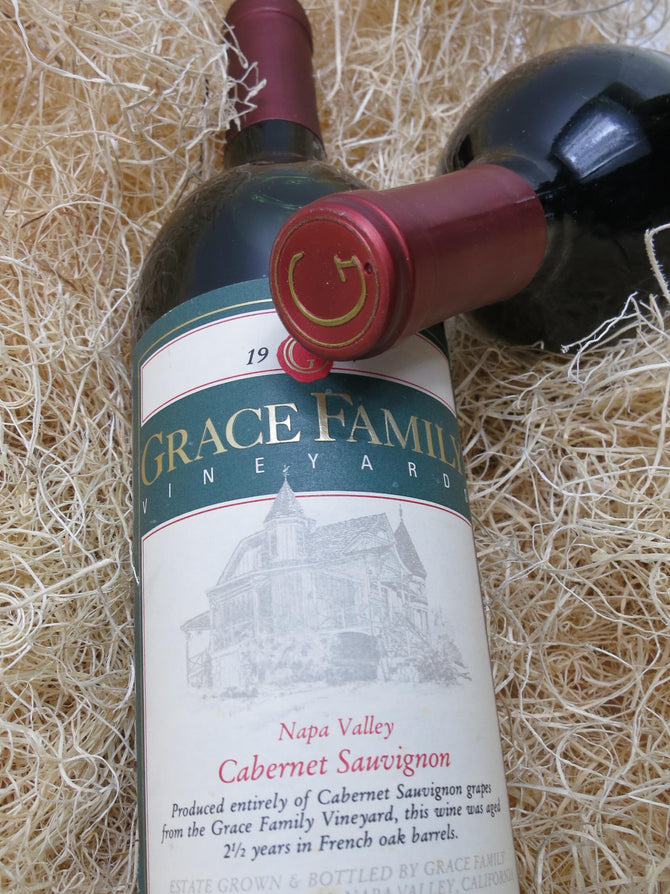 1995 Grace Family Vineyard Cabernet Magnum - 1500ml