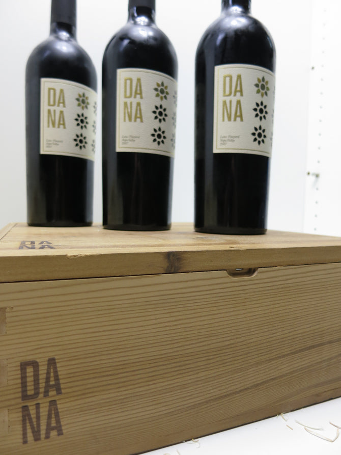 2007 Dana Estates Lotus Vineyard Cabernet - OWC 3 x 750ml