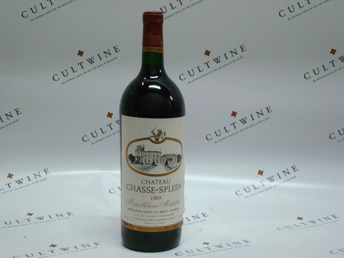 1989 Chateau Chasse-Spleen Bordeaux Magnum - 1500ml