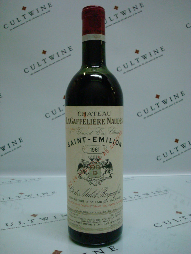 1961 Chateau La Gaffeliere Grand Cru Bordeaux - 750ml