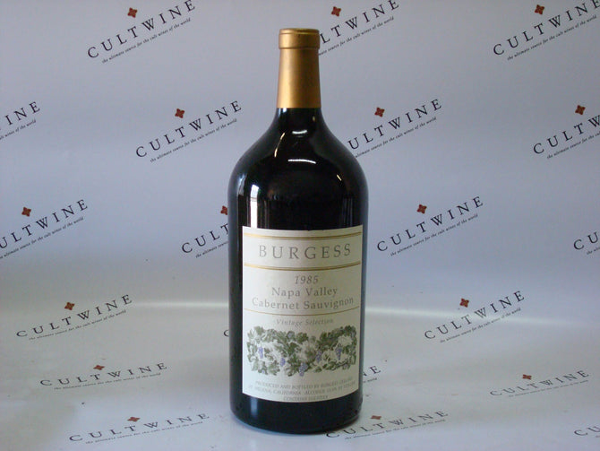 1985 Burgess Cabernet Double Magnum - 3000ml