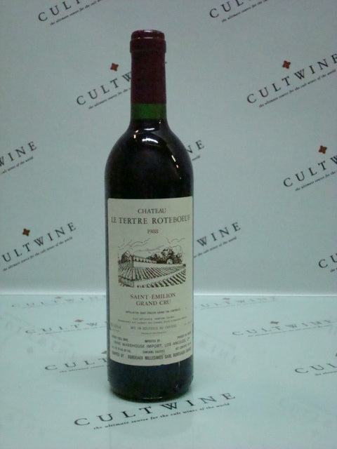 1988 Le Tertre Roteboeuf Bordeaux - 92 pts! - 750ml