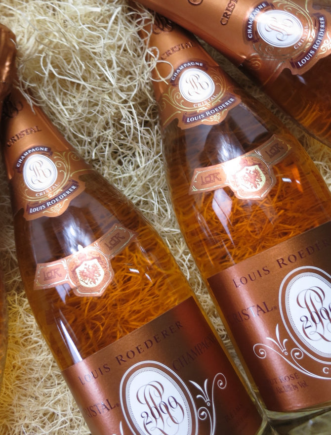 2004 Louis Roederer Cristal Rose Champagne - 750ml