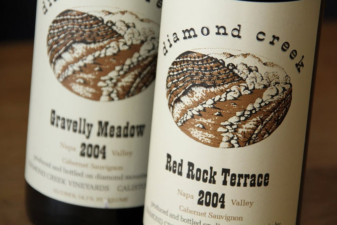 1998 Diamond Creek Gravelly Meadow Cabernet - 750ml