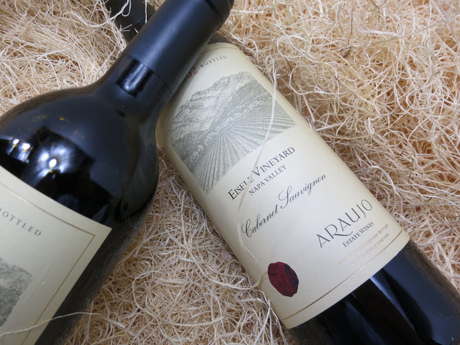 1994 Araujo Eisele Vineyard Cabernet Double Magnum - 98 pts - OWC 3000ml