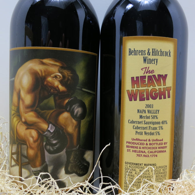 2003 Behrens Hitchcock Beckstoffer To Kalon The Heavyweight - 93 pts - 750ml