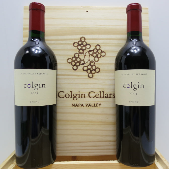 2002 Colgin Cellar Cariad Cabernet - 99 pts - 750ml