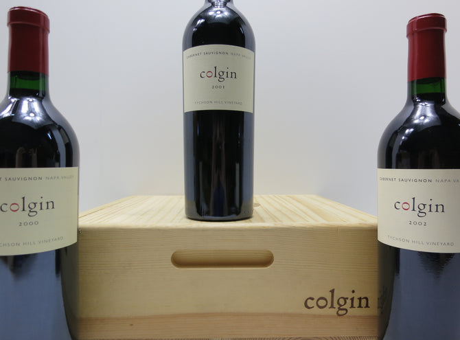 2000 Colgin Cellars Tychson Cabernet - 96 pts - 750ml