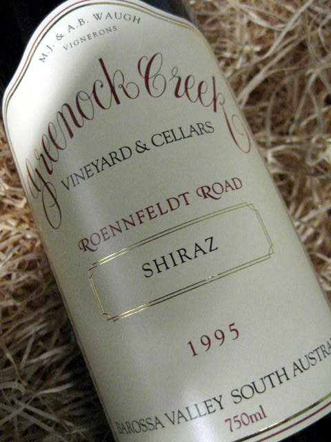 1997 Greenock Creek Seven Acre Barossa Valley Shiraz