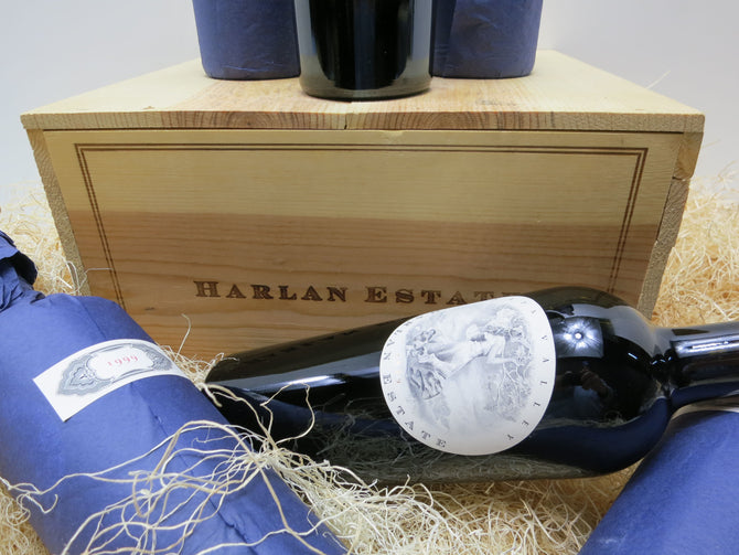 1990-95 Harlan Estate Cabernet - OWC - Limited Release - 6 x 750ml
