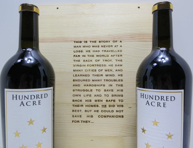 2007 Hundred Acre Deep Time Cabernet - 98-100 pts - OWC - 2 x 750ml