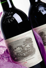 1986 Chateau Lafite-Rothschild Bordeaux - 100 pts - 750ml