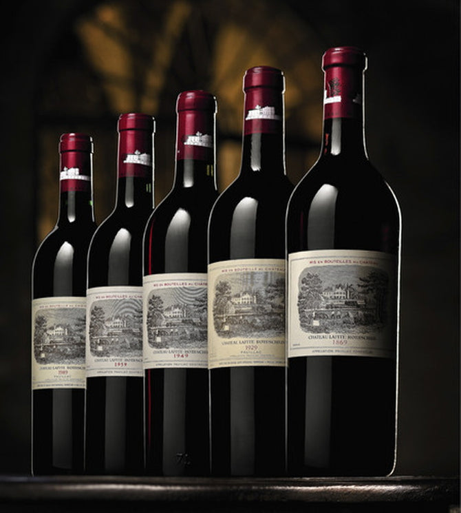 2003 Chateau Lafite-Rothschild Bordeaux Double Magnum - 100 pts - 3000ml