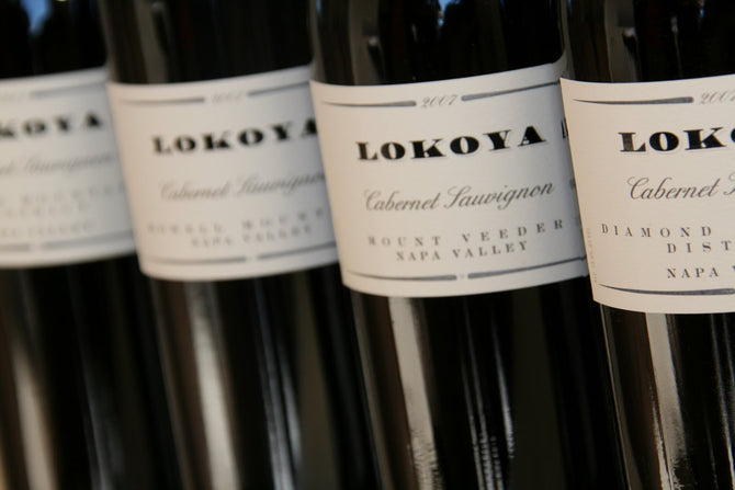 2003 Lokoya Diamond Mountain Cabernet - 750ml