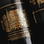 1961 Chateau Palmer Bordeaux - 99 pts - 750ml