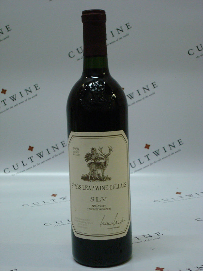 1988 Stags Leap Wine Cellars S.L.V. Cabernet - 750ml