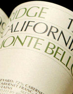 2004 Ridge Monte Bello Cabernet Magnum - 1500ml