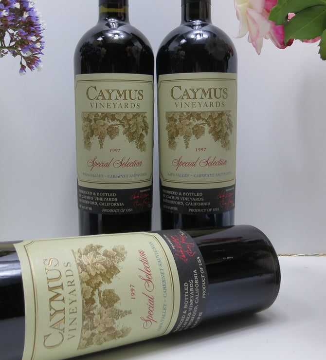 2001 Caymus Vineyards Special Selection Cabernet - 750ml