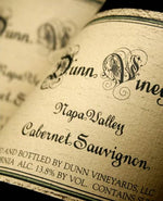 1986 Dunn Howell Mountain Cabernet - 95 pts - 750ml