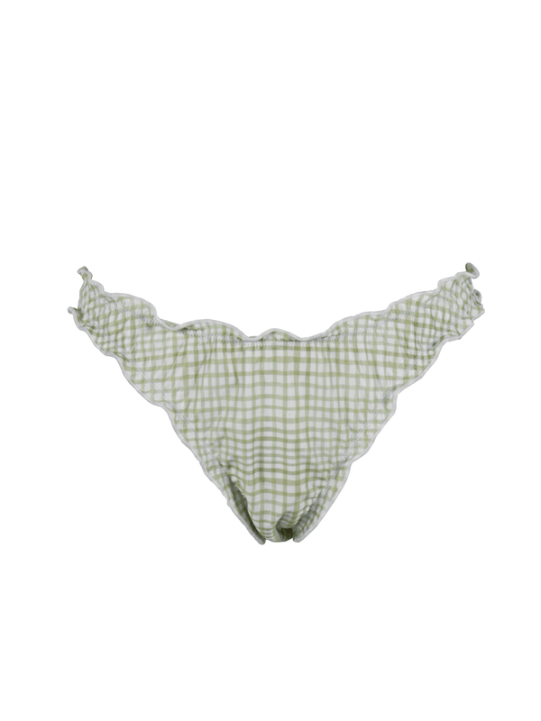 GABRIELLE BOTTOM - Gingham Green