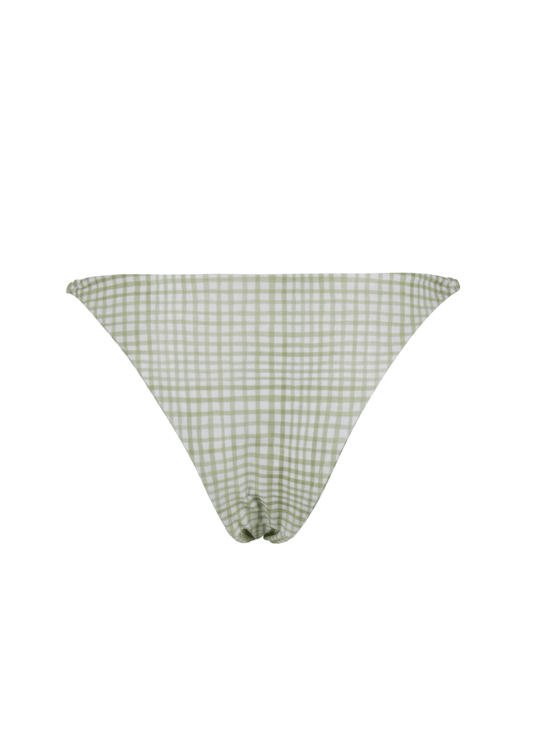 CARLY BOTTOM - Gingham Green