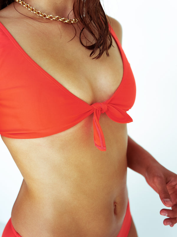 LAURE TOP - Tangerine