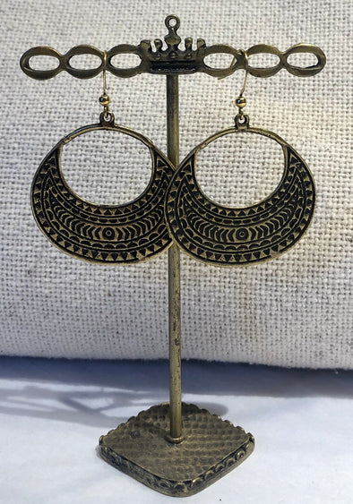 Antique Gold Dangles