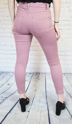 High Rise Ultra Soft Denim Leggings (2 Colors)