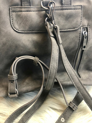 Vintage Crossbody Backpack