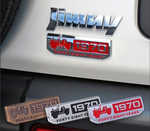side emblem decal for jimny