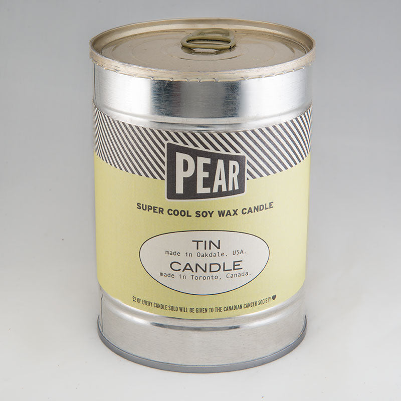 Pear Canned Candle