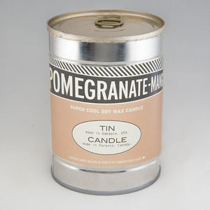 Pomegranate-Mango Canned Candle