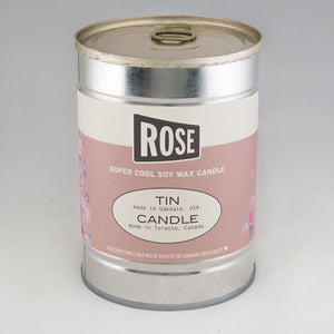 Rose Canned Candle