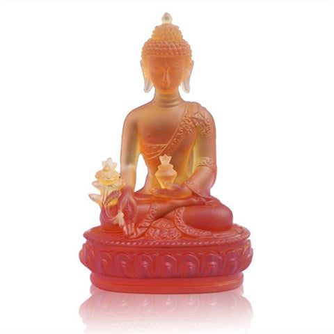 statue-bouddha-couleur-orange
