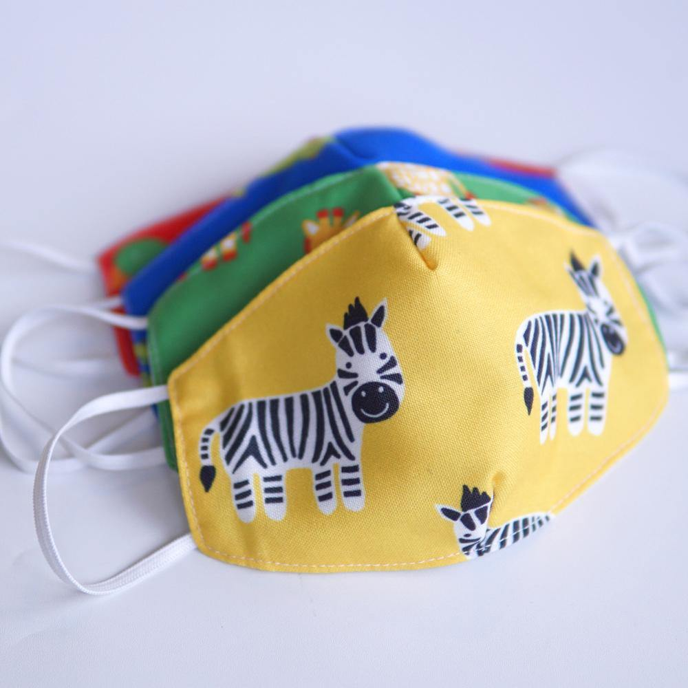Mamakarti Safari Theme Mask (Kids and Adults) - Colorfull