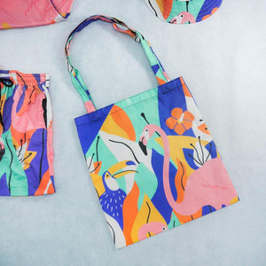 Hello Summer Tote Bag - Colorfull