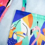 Load image into Gallery viewer, Hello Summer Tote Bag - Colorfull