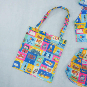 I'm On Vacation Tote Bag - Colorfull