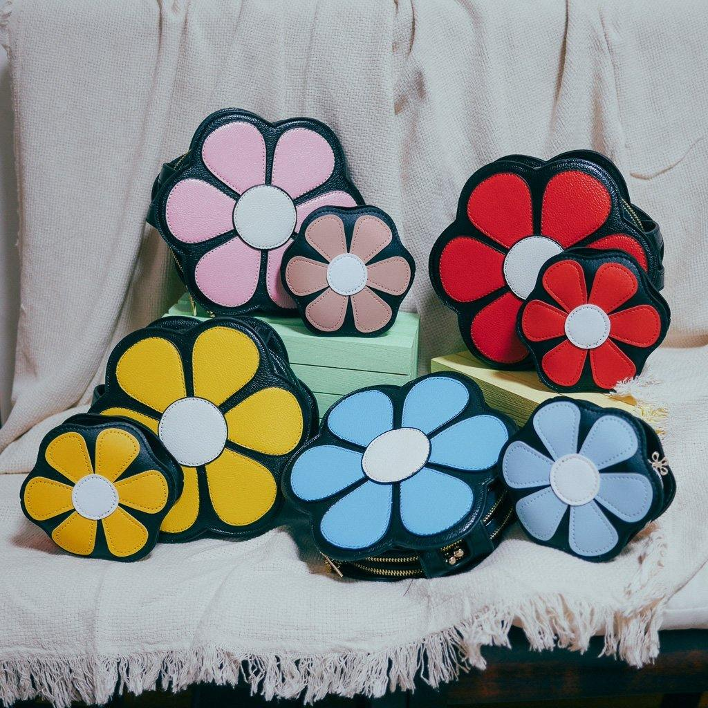 Gerbera Daisy Twinning Bag - colorfull
