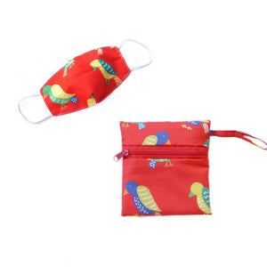 Mamakarti Safari Mask Pouch Bundle - colorfull