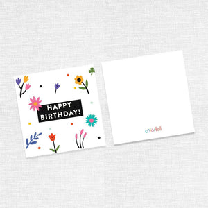 Happy Birthday Greeting Cards (For girls) - Colorfull