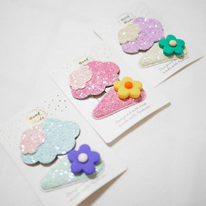 Happy Skies Hair clips - colorfull