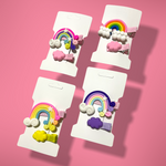 Load image into Gallery viewer, Rainbow Hair Pins - Colorfull