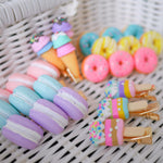 Load image into Gallery viewer, Ice Cream Stick Hair Pins - Colorfull
