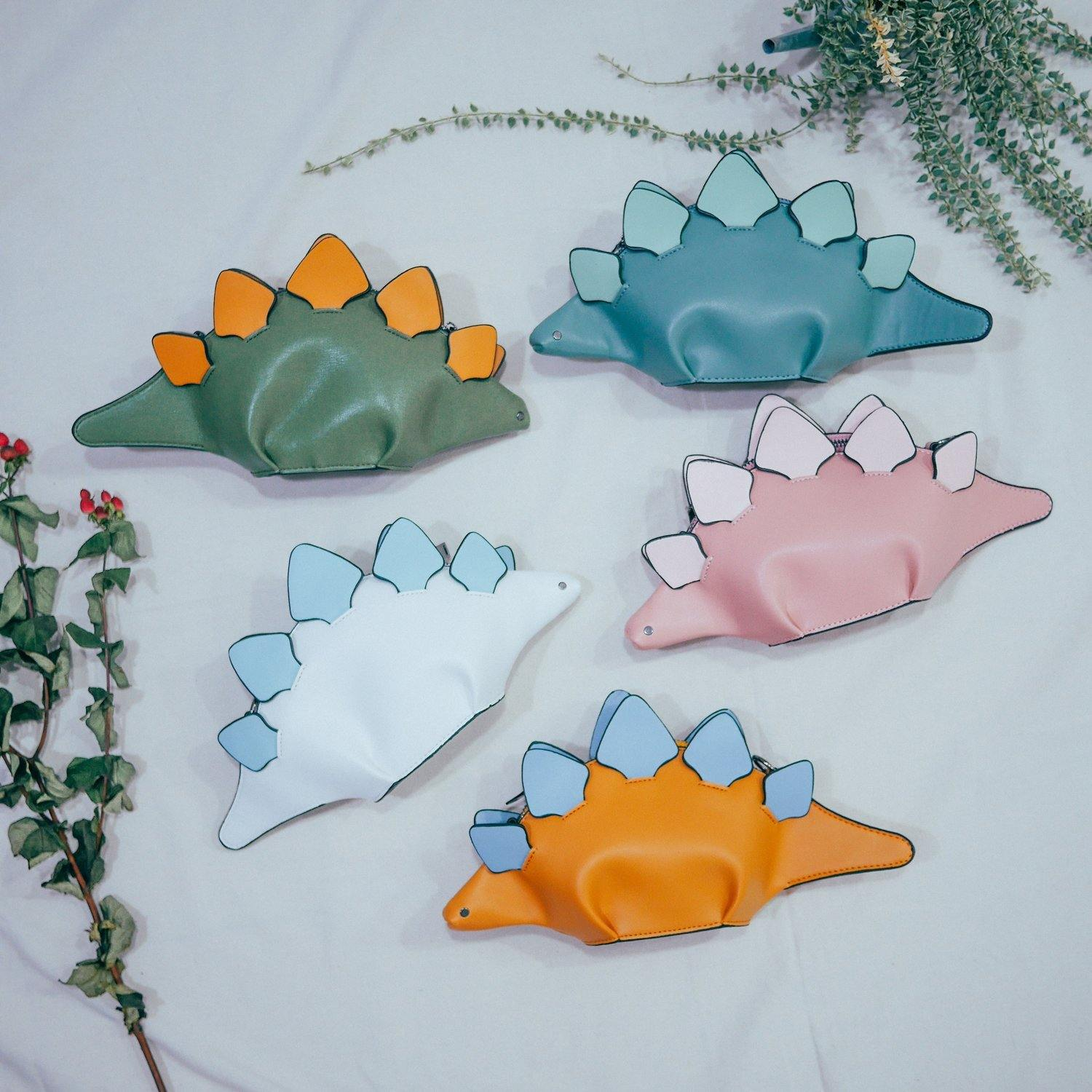 Mommy Stegosaurus (ages 6 to adults) - colorfull