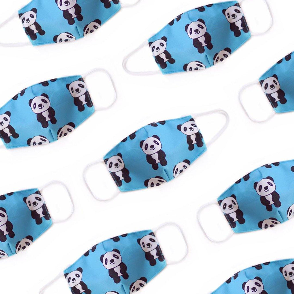Mamakarti Positive Panda Mask (Kids and Adults) - colorfull